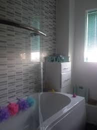 Feature Wall Bathroom Ideas Mosaic Tile Feature Wall Bathroom Mesmerizing Interior Design Ideas