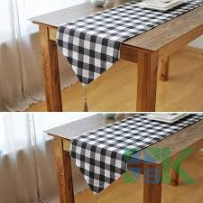 home decor table runner sale plaid table runner mediterranean style home decor table