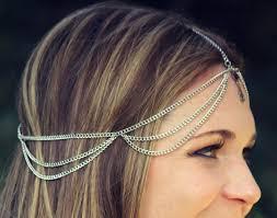 gold headpiece rouelle calypso headpiece three strand delicate rhinestone gold