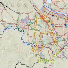 Beaverton Oregon Map by Regional Trails And Greenways System Metro