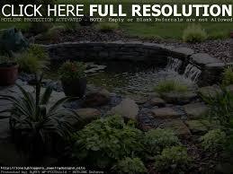 backyard pond kits waterfall home outdoor decoration