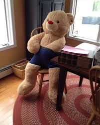 big teddy bears for valentines day my got me a teddy for s day i had