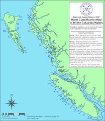 Map With Oceans Water Classification Maps U2022 Sea Kayak Guides Alliance Of Bc