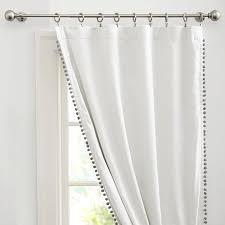 Curtains With Pom Poms Decor Pom Pom Curtains 100 Images Adorable Pom Poms Curtain Beige