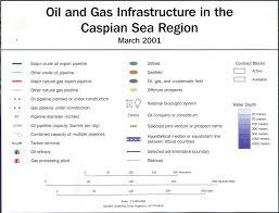 Caspian Sea World Map by