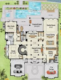 luxury home plans with elevators 534 best house plans images on architecture house