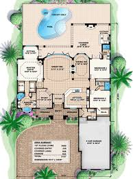 floor plans with great rooms a true great room house plan 66226we architectural designs