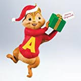 alvin and the chipmunks animated ornament with