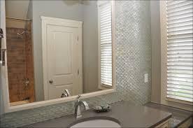 bathroom cabinets custom mirrors beveled glass mirror large