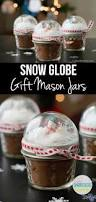 snow globe mason jar toppers homemade christmas gifts homemade