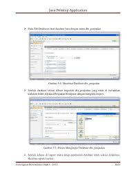 membuat database penjualan xp implementasi pengujian program aplikasi by depandi enda