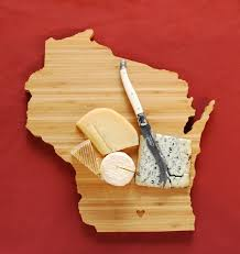 state shaped gifts aheirloom s wisconsin state shaped cutting board by aheirloom