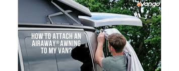 Vehicle Awnings Uk How To Attach A Vango Inflatable Awning To Your Van Just Pitch