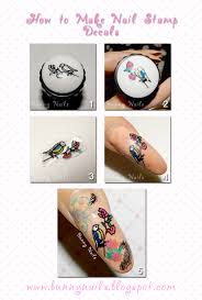 color nail polish how to do nail stamp decals
