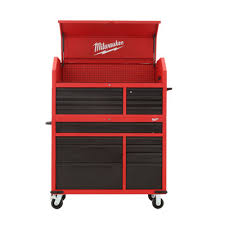 home depot black friday workbench milwaukee 46 in 16 drawer tool chest and rolling cabinet set red