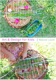 art and design for kids natural loom tree stump natural and botany