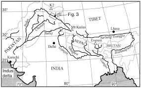 India River Map by Sedimentology Of The Indus Group Ladakh Northern India