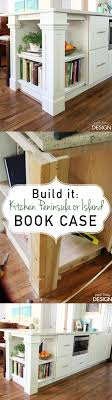 how to build a custom kitchen island build it custom kitchen bookcase kitchen peninsula dishes