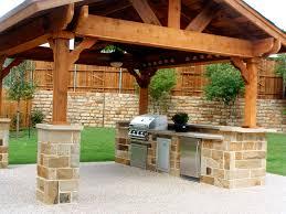 kitchen chic backyard kitchen ideas outdoor grill islands
