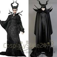 Halloween Costume Ball Gown Disney Queen Maleficent Angelina Jolie Halloween Cosplay Costume