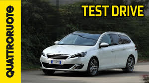 peugeot wagon peugeot 308 station wagon auto dell u0027anno 2014 test drive youtube