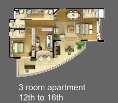 three room apartment three room apartment pretty inspiration 5 3 gnscl