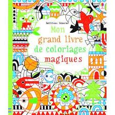 Mon grand livre de coloriages magiques  broché  Fiona Watt  Achat