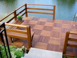 Wood Patio Flooring by 22 Composite Flooring Ideas To Bring Contemporary Style Into