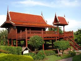 traditional thai house plans house plan