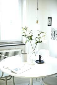 table ronde cuisine design table de cuisine ronde et blanche 4 a 8 authentic style la