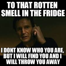 Fridge Meme - to that rotten smell in the fridge on memegen