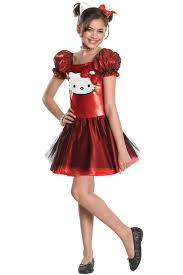 Kitty Toddler Costumes Halloween Kitty Red Sequin Tutu Dress Child Costume Purecostumes