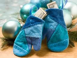 blue yule mitten ornaments allpeoplequilt
