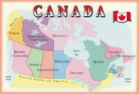 Map Canada Provinces by Map Of Canada U2013 My Collection Of Postcards From The World