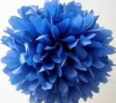 royal blue tissue paper royal blue tissue paper pom wedding decorations the