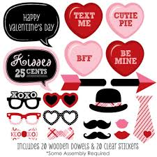 photo booth props s day photo booth props kit 20 count