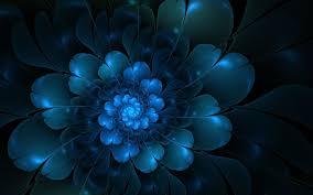 Blue Flower Backgrounds - dark backgrounds group 74