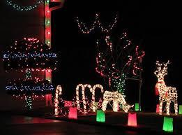 Christmas Light Pictures Lawrence Kansas Christmas Light Display Tour