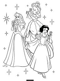 free printable princess aurora coloring pages princesses belle