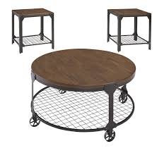 coffee table and end table sets 2 buy ashley furniture rolena 3 piece table set bringhomefurniture com