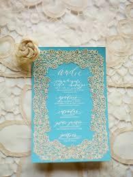 light blue wedding invitations light blue gold wedding invitation once wed gold weddings diy