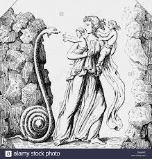 leto latona greek mythical figure mistress of zeus full