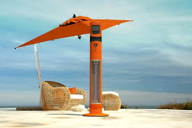Rta International Patio Heater The Heat Is On Modern Patio Heaters Apartment Therapy