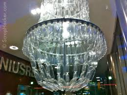 Diy Chandelier Ideas by Diy Chandelier From Plastic Bottles Thesecretconsul Com