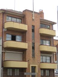 Art Deco Balcony by Streamline Moderne Art Deco Flats Albert Street Ballarat A