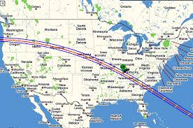 Map Of The Continental United States by World Travel Photos And Comments Upcoming Usa Eclipses