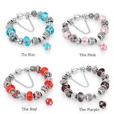 bead bracelet european images Yakamoz european charm beads bracelet bangle authentic crystal jpg
