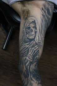 dark age tattoo studio tattoos blackwork healed black and
