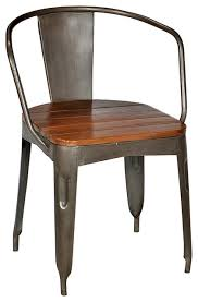 Industrial Metal Kitchen Chairs Metal Dining Chairs Interior Design