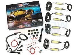 Led Glow Ledglow 8pc Rock Crawling Waterproof Led Lighting Kit